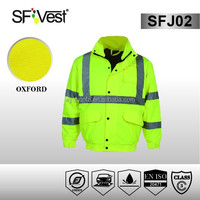 roadway safety reflective warning jacket for driver and workers