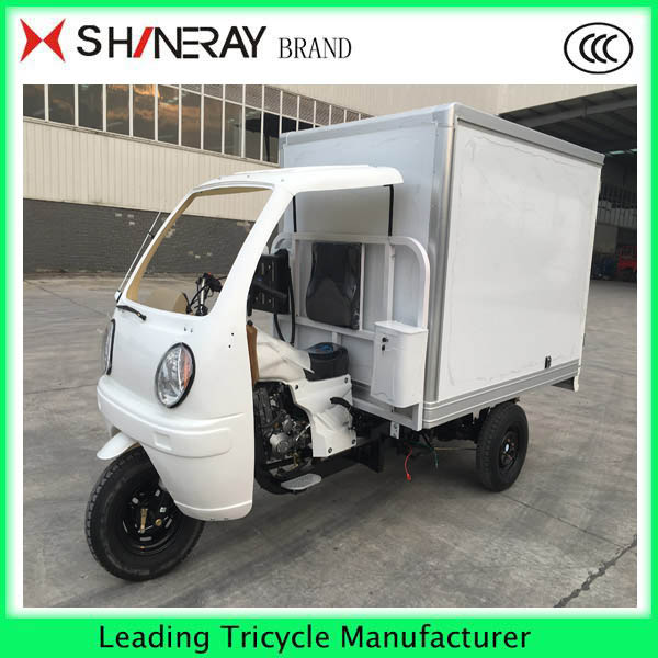 CCC Certification and Motorized Driving Type 200cc shineray engine three wheelers