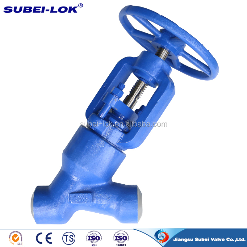 "High Quality Forged Steel 2"" Y Type Globe Valve"