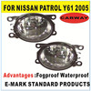 for Nissan Patrol Y61 Halogen Auto Fog Light OEM parts fog lamp