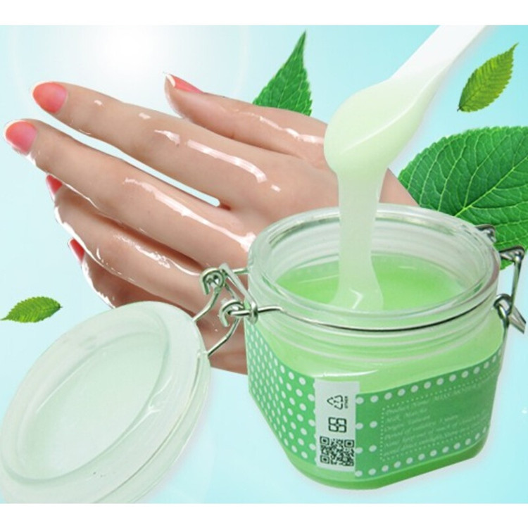 Organic wax treatment hydrating exfoliating nourish whitening hand mask