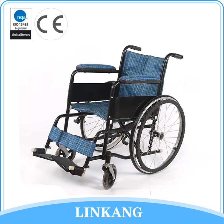 Factory wholesale children manual wheelchair with toilet