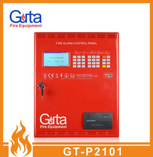 Intelligent Conventional Addressable Fire Alarm Control Panel System With LCD Play