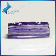 purple raw rough material cubic zirconia amethyst stone