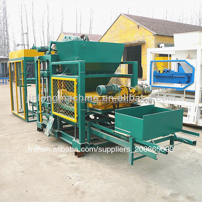 qt4-25 cement brick production machine,Machine automatique de briques bloc