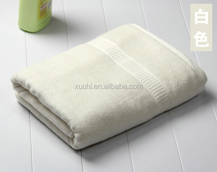china wholesale white cotton bamboo bath sheet for home and hotel
