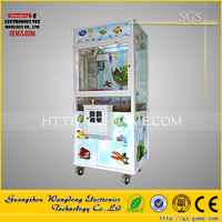 For shopping mall indoor coin operated amusement toy claw game machine --TAO BAO WU
