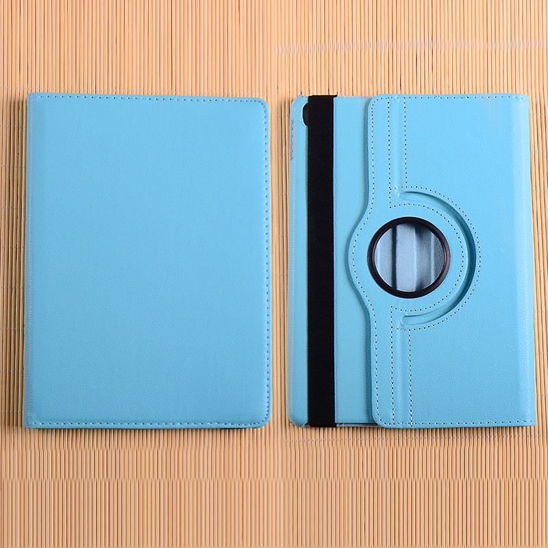 Newest 360 degree leathe flip cover case for ipad pro 9.7 PU cover