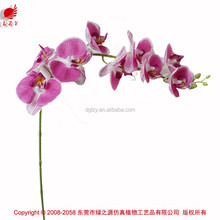 Butterfly looking real touch artificial orchids flower
