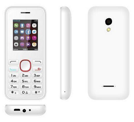 Model 2040 China factory low price mobile phone Dual SIM 1.8 inch Phone