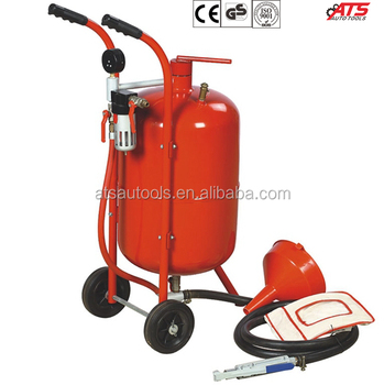 20 gallon sand blaster, 2 wheels sand blasting machine