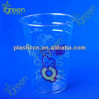 customized decorative plastic cups for food