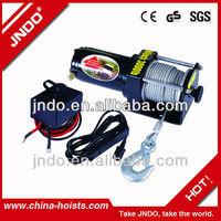 Small Electric Capstan Winch