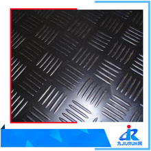 Anti Slip Outdoor Weather Resistance Checker Plate Rubber Matting