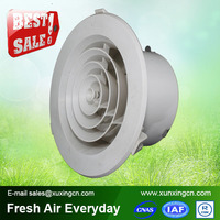 air conditioning ceiling plastic round ventilation grill