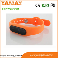 90 days stand by digital bluetooth sport pedometer bracelet android smart phone bracelet