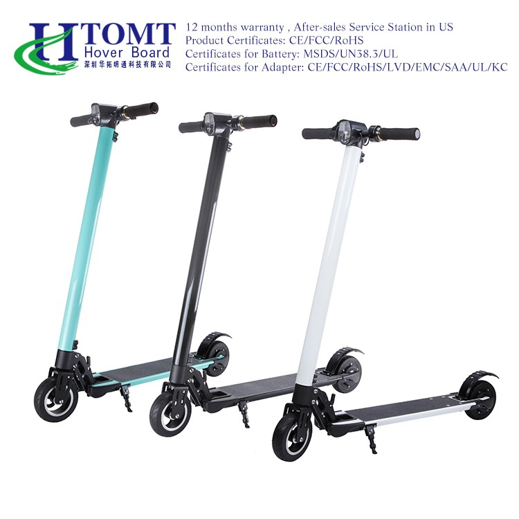 8inch absorption aluminum alloy electric scooter lithium battery two wheel folding kick scooter