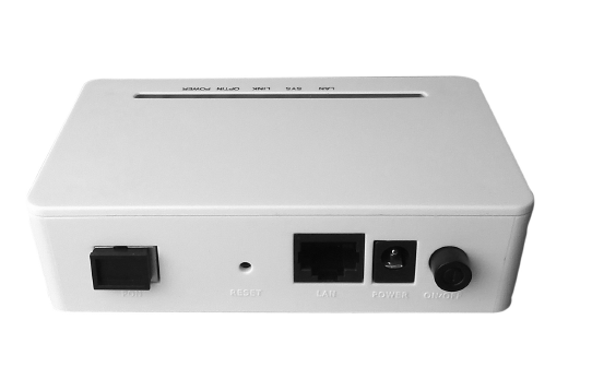 communication device 1GE ONU with 1 PON port and one 10/100/1000BASE-T ports