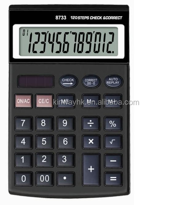 high quality electronic 12 digit one to one function calculator