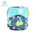 Happyflute Baby Cloth Diapers One Size Adjustable Washable Reusable night time heavy wetter diaper