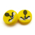 hot selling high quality racket accessories yellow dampener tennis