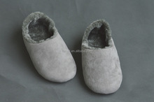men women super soft warm suede sole indoor plush slipper casual shoes