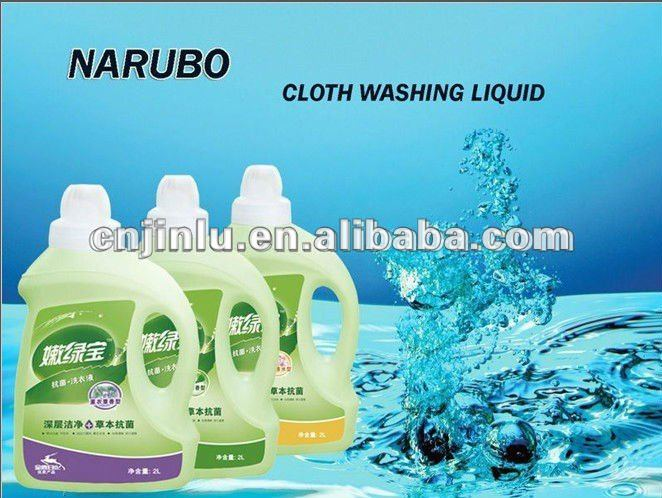 Clothes Washing up formulas of liquid detergent stain remover