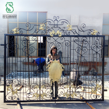 Iron fence panels / prefab fence panel
