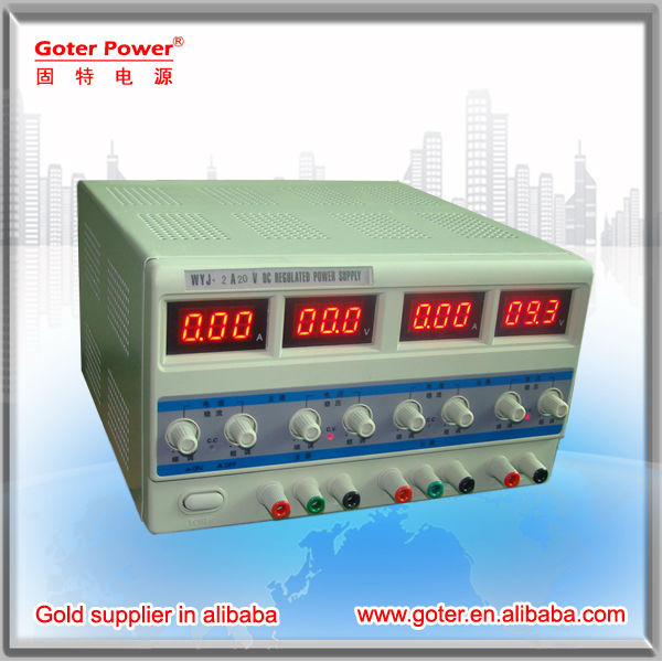 single regulated DC power/adjustable DC power supply