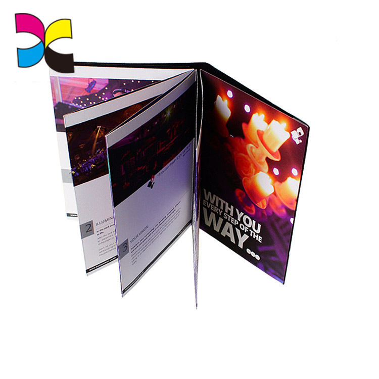 Customized high quality new product promotional leaflet printing