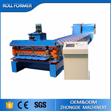 China metal roofing panel roll forming machine for sale, roof panel roll forming machine,roof tiles making machine factory