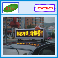 Zhenghua NEWTIMES High-Quality Table Mini LED Display & Electronic Desktop Screen Display and taxi car led display