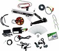 high power electric bycicle conversion kits/electric bicycle motor kits with sine wave controller