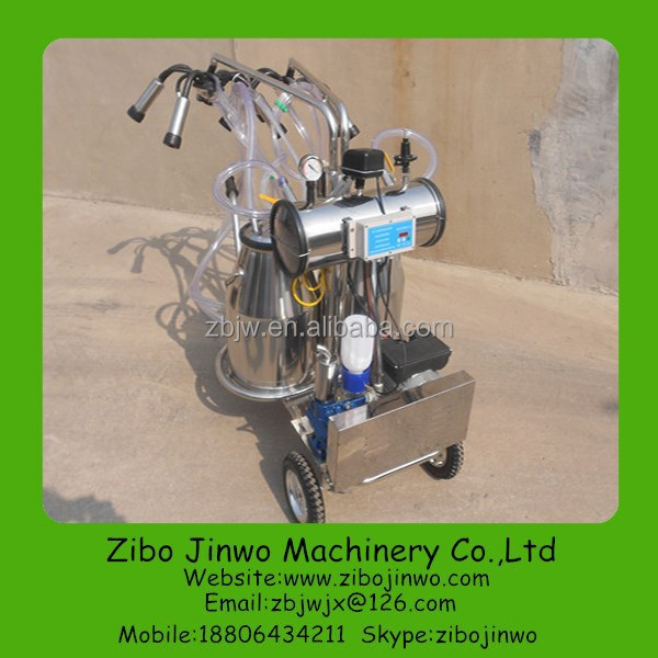 Cow Milking Machine with Electronic Pulsator