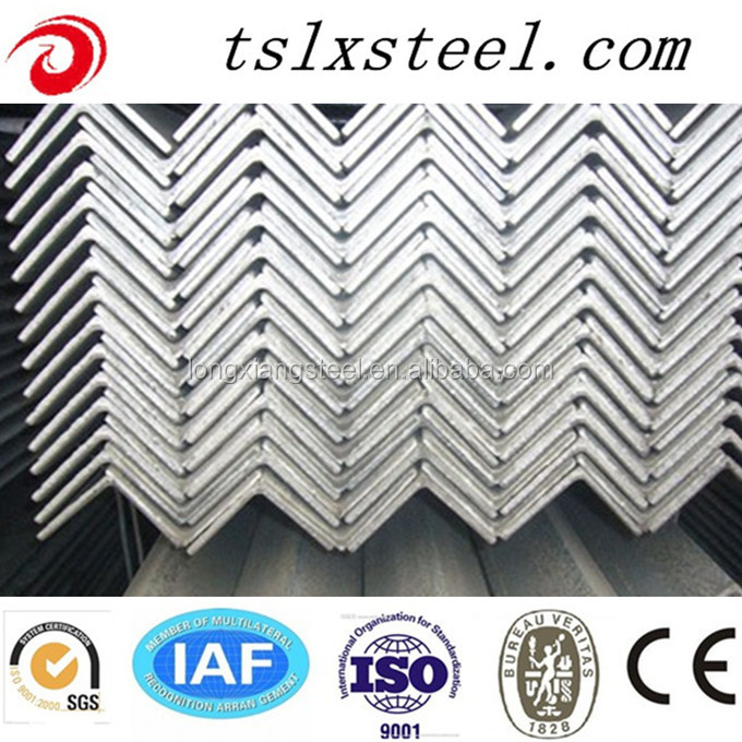 hot sale Q235B ss400 Q345B grade equal or unequal steel angles/steel angle bars/iron steel angle