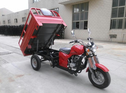 Motorized Adult Tricycles for sale 200CC Boost Rear Axle and Double Front Absorber