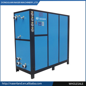 Factory industrial chiller for outdoor use air cooled compressor