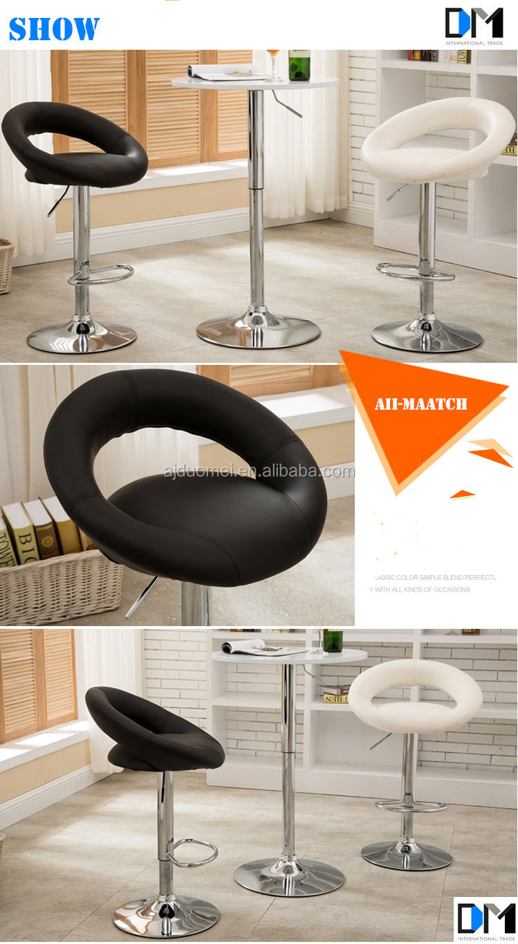 Wholesale Modern Swivel White Leather Bar Stools On Alibaba Express Cheap Used Bar Chair In Bar
