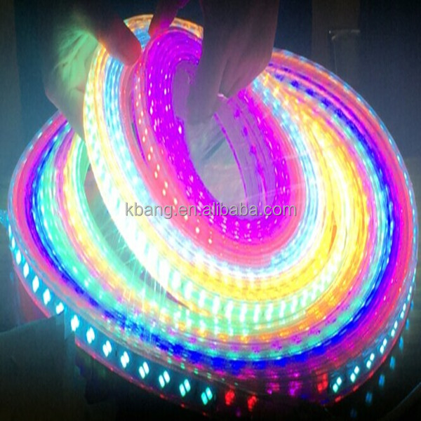 customized 220v led strip light rgb color multi color new product