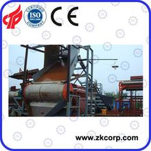 High gradient drum type dry magnetic separator for iron ore