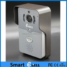 ATZ E-Bell Global Video Door Phone HD IP Camera Doorbell for Android& iPhone with Weather Resistant Waterproof IP65