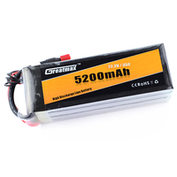 Custom Greatmax 5200mah 2.2v 35c Lithium Polymer Rechargeable Battery