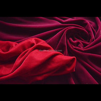 new arrive low price wine red plain silk velvet fabric upholstery fabric velvet fabric for jewelry box