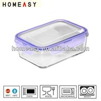 heibei glass lock container made in china