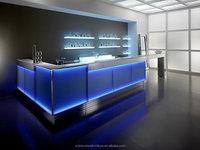 Amazing Design custom acrylic portable bar wholesale bar supplies