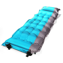 Ultralight Portable Air Inflatable Mat Moistureproof Outdoor Sleeping Cushion Mattress Waterproof Mat