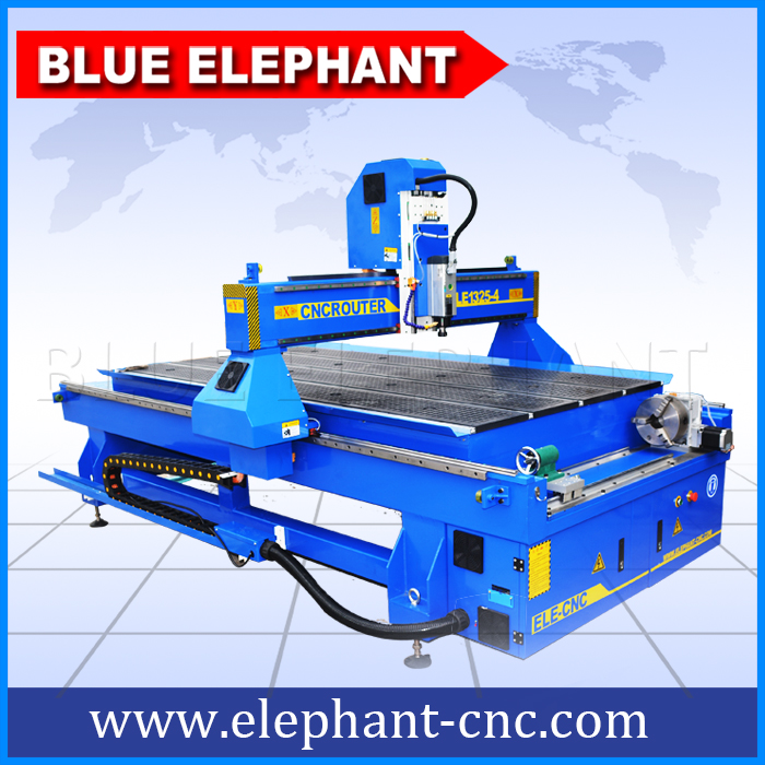 Cheap hot sale 1325 cnc router machine 4 axis carving engraving cylindrical materials