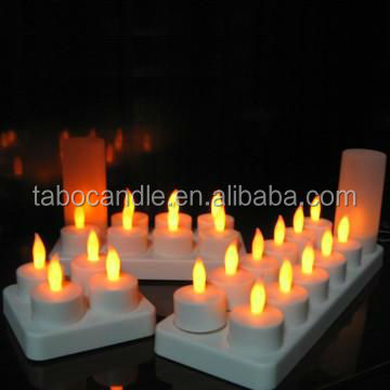 Flickering Rechargeable Led Candle