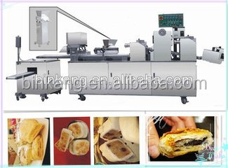 delicous automatic flat bread making machine round paratha/chapati machinery