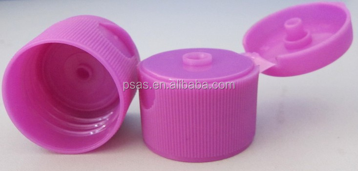 28mm Plastic big orifice Flip Top Cap for Bottle with big orifice